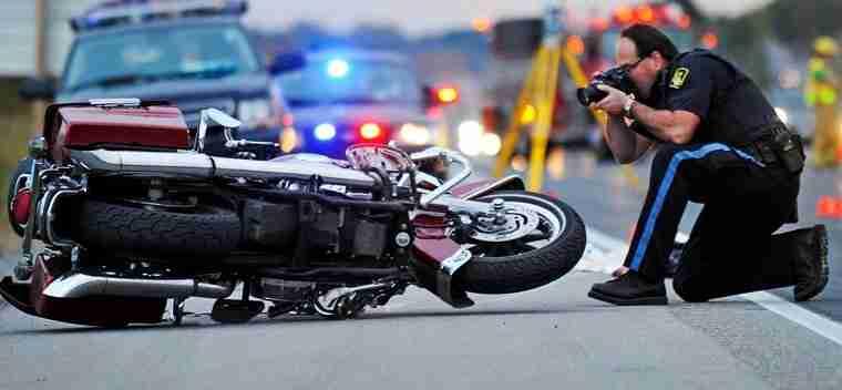 Rilievi polizia dopo incidente